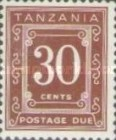 [Postage Due Stamps - Different Perforation, Typ A21]