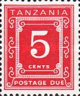 [Postage Due Stamps - Different Perforation, Typ A6]
