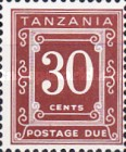 [Postage Due Stamps - Different Perforation, Typ A9]