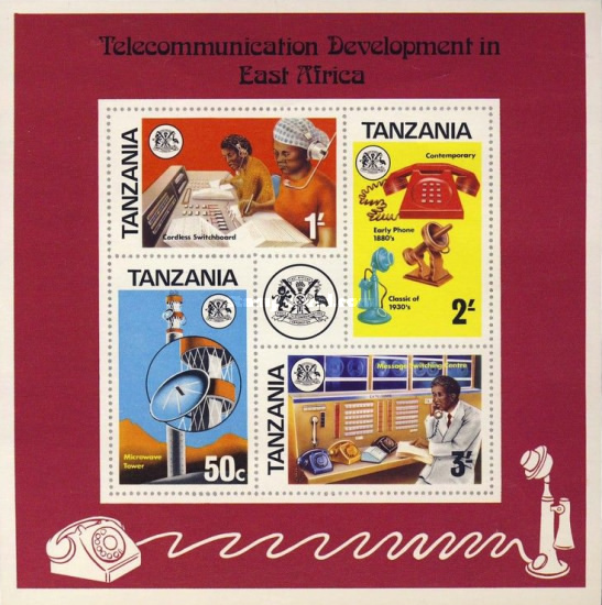 [Development of Telecommunications in East Africa, type ]