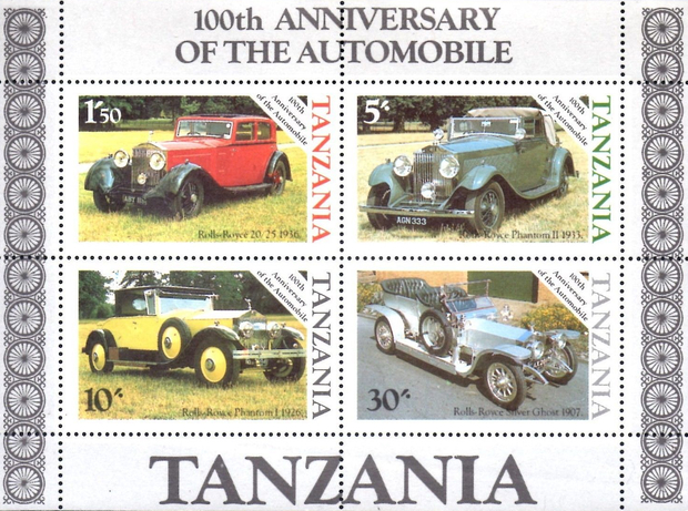 [The 100th Anniversary of the Automobile, Typ ]