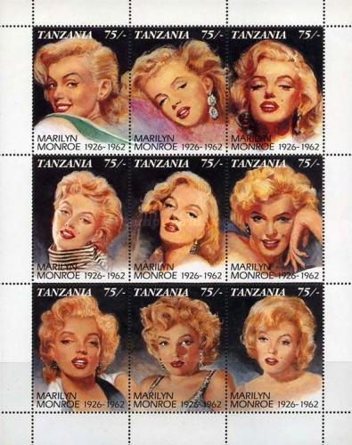 [The 30th Anniversary of the Death of Marilyn Monroe, 1928-1962, type ]