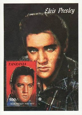 [The 15th Anniversary of the Death of Elvis Presley, 1935-1977, type ]