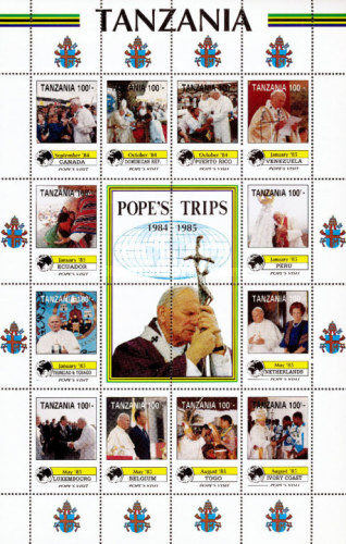 [Travels of Pope John Paul II, type ]
