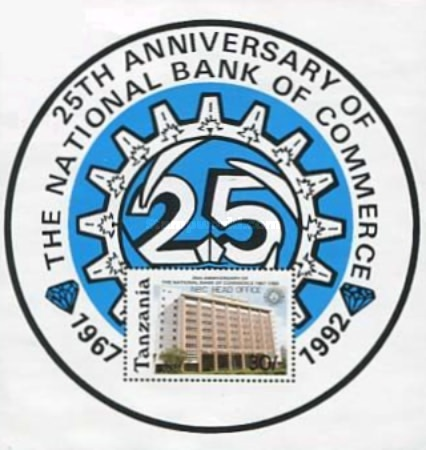 [The 25th Anniversary of National Bank of Commerce, type ]