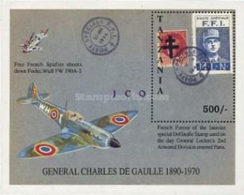 [The 100th Anniversary of the Birth of Charles de Gaulle, type ]