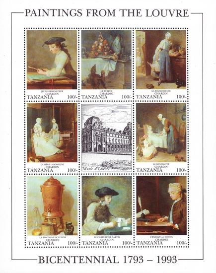 [The 200th Anniversary of the Louvre Museum, Paris, type ]