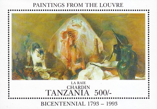 [The 200th Anniversary of the Louvre Museum, Paris, Typ ]