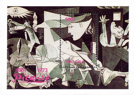 [The 20th Anniversary of the Death of Pablo Picasso, 1881-1973, Typ ]