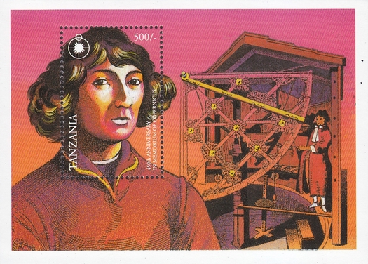 [The 450th Anniversary of the Death of Nicolaus Copernicus, 1473-1543, type ]