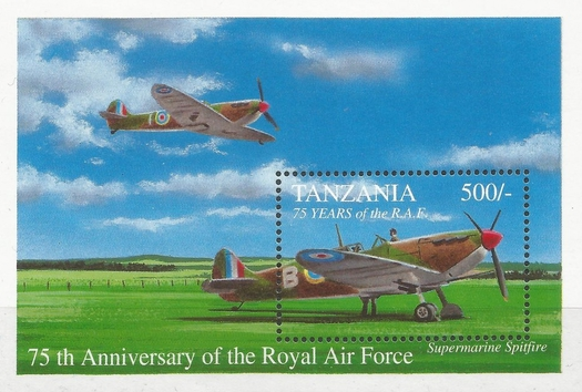[Anniversaries and Events of Aviation - The 75th Anniversary of the Royal Air Force, Typ ]