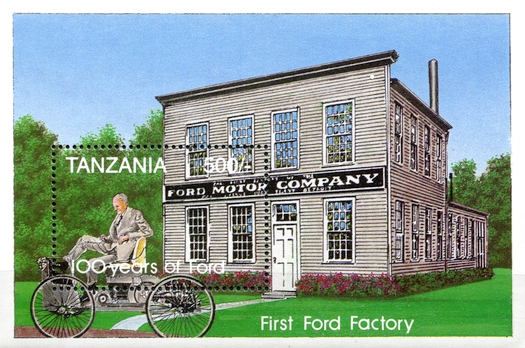 [The 100th Anniversary of Benz Motor Car and First Ford Motor, Typ ]