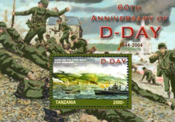 [The 60th Anniversary of Landing of Allied Troops in Normandy, type ]