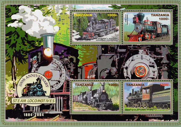 [The 200th Anniversary of Steam Locomotives, 2004, Typ ]
