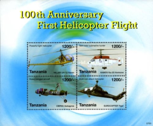 [The 100th Anniversary of the First Helicopter Flight, Typ ]