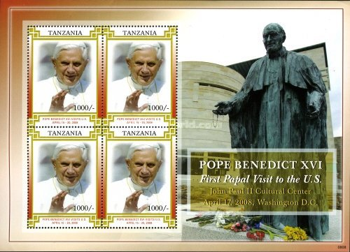 [Pope Benedict XVI - First Papal Visit to the United States, Typ ]