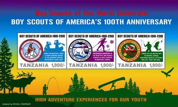 [The 100th Anniversary of the Boy Scouts of America, Typ ]
