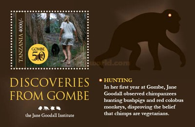 [The 50th Anniversary of Dr. Jane Godall's Research at Gombe Stream National Park, Typ ]