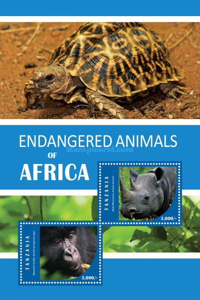 [Endangered Animals of Africa, Typ ]