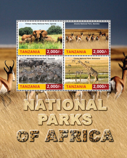 [National Parks of Africa, Typ ]