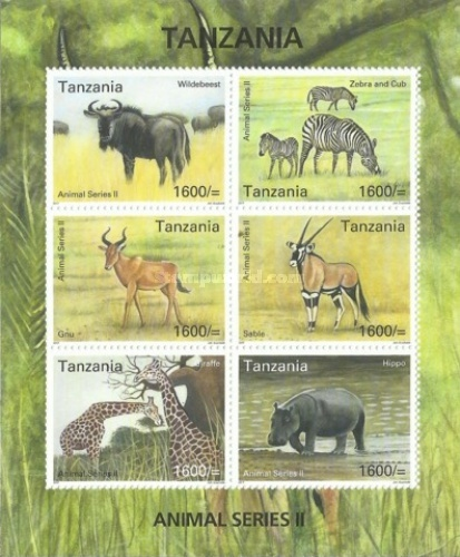 [Fauna - Wildlife of Tanzania, Typ ]