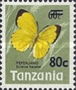 [Butterflies - Issue of 1973 Surcharged, type AV]