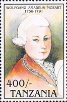 [The 200th Anniversary of the Death of Wolfgang Amadeus Mozart, type AWX]