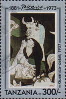 [The 20th Anniversary of the Death of Pablo Picasso, 1881-1973, Typ BEC]