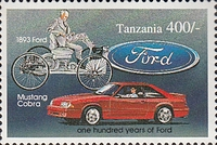 [The 100th Anniversary of Benz Motor Car and First Ford Motor, Typ BOV]
