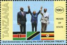 [The 2nd Anniversary of East Africa Agreement, Typ CGX]