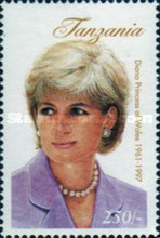 [The Death of Princess Diana, 1961-1997, Typ DEO]