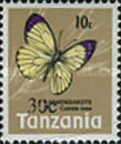 [Butterflies - Issue of 1973 Surcharged, Typ DY]