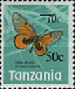 [Butterflies - Issue of 1973 Surcharged, Typ DY1]