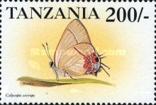 [Butterflies from around the World, Typ EAW]