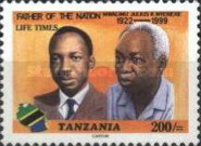 [The 1st Anniversary of the Death of Julius Nyerere, 1922-1999, type EYP]