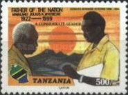 [The 1st Anniversary of the Death of Julius Nyerere, 1922-1999, type EYQ]