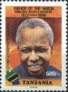 [The 1st Anniversary of the Death of Julius Nyerere, 1922-1999, type EYR]