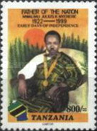[The 1st Anniversary of the Death of Julius Nyerere, 1922-1999, type EYS]