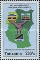 [The 40th Anniversary of Independence, Typ FDC]