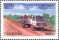 [The 40th Anniversary of Tanzanian Organization Tanganyika Christian Refugee Service or TCRS, Typ FGV]