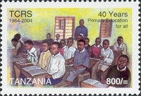 [The 40th Anniversary of Tanzanian Organization Tanganyika Christian Refugee Service or TCRS, Typ FGX]