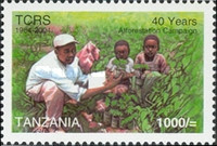 [The 40th Anniversary of Tanzanian Organization Tanganyika Christian Refugee Service or TCRS, Typ FGY]