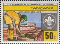 [The 75th Anniversary of Boy Scout Movement, Typ GO]