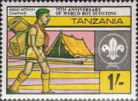 [The 75th Anniversary of Boy Scout Movement, Typ GP]