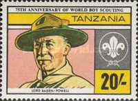 [The 75th Anniversary of Boy Scout Movement, Typ GR]