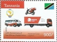 [The 40th Anniversary of the PAPU - Pan African Postal Union, Typ HIT]