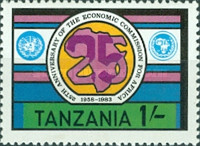 [The 25th Anniversary of the Economic Commission for Africa, Typ HJ]
