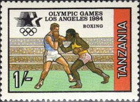 [Olympic Games - Los Angeles, USA, Typ HZ]