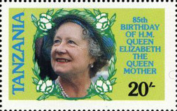 [The 85th Anniversary of the Birth of Queen Elizabeth the Queen Mother, 1900-2002, Typ IV]