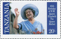 [The 85th Anniversary of the Birth of Queen Elizabeth the Queen Mother, 1900-2002, Typ IW]